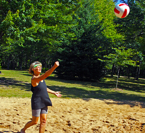 Volleyball Basketball Courts - Cherry Valley Lakes RV